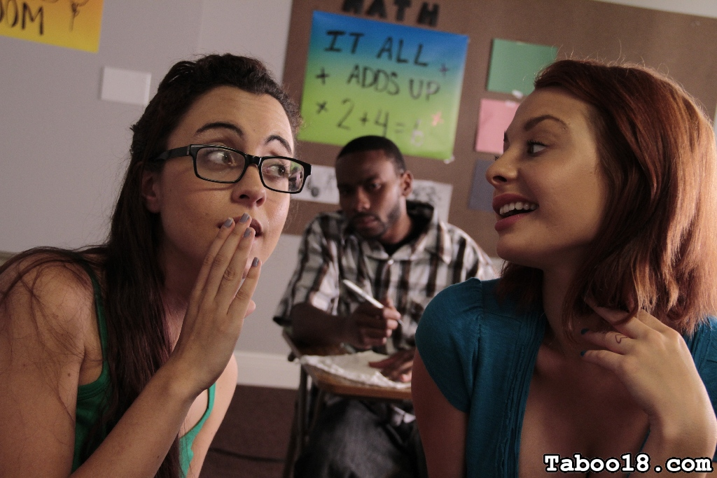 Roxanne rae and jessica robbin want the new guy s penish  roxanne and jessica are extremely lascivious thinking which penish they ll go after next  problem is they ve been through most of the cocks in school  fortunately for them there s a new student sit. Roxanne and Jessica are extremely horny, thinking which penish they'll go after next. Problem is, they've been through most of the cocks in school. Fortunately for them there's a new student sitting in the same study hall.